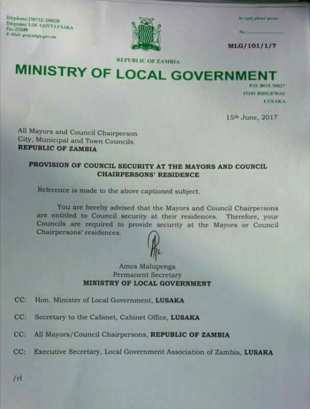 Mayors And Council Chairperson Emoluments Determined