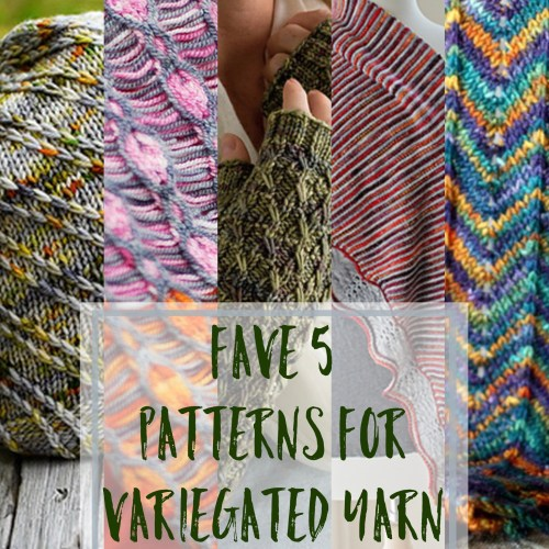 Favorite 5 Patterns For Crazy Variegated Yarn Tumped Duck