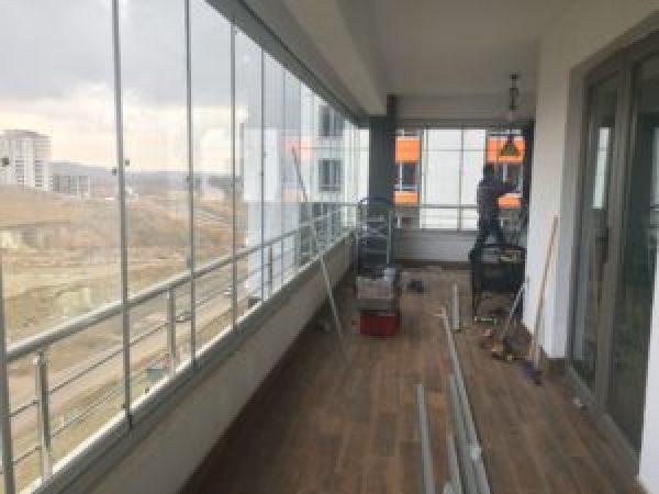 Eryaman Cam Balkon Ankara gold plus yağmur oluklu