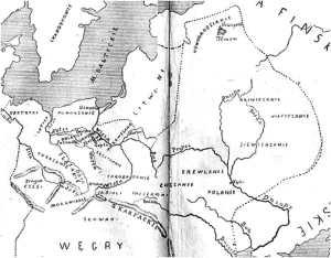 Główne plemiona słowiańskie