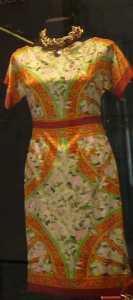 orange oranż pomarańczowa sukienka Mediolan