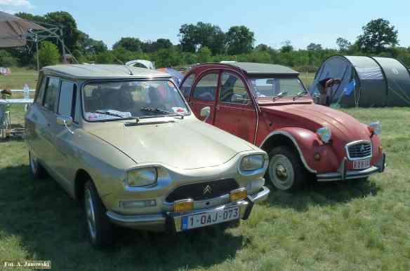 Citroen 18 Friends C2V Poland Ami 6 1961 1978 red Belgique Belgium Belgia Belge Nasze Strony