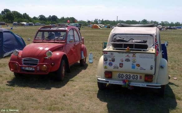 Citroen 23 Friends C2V Poland czerwony red eye deep great awesome car cool brilliant chouette extra Nasze Strony