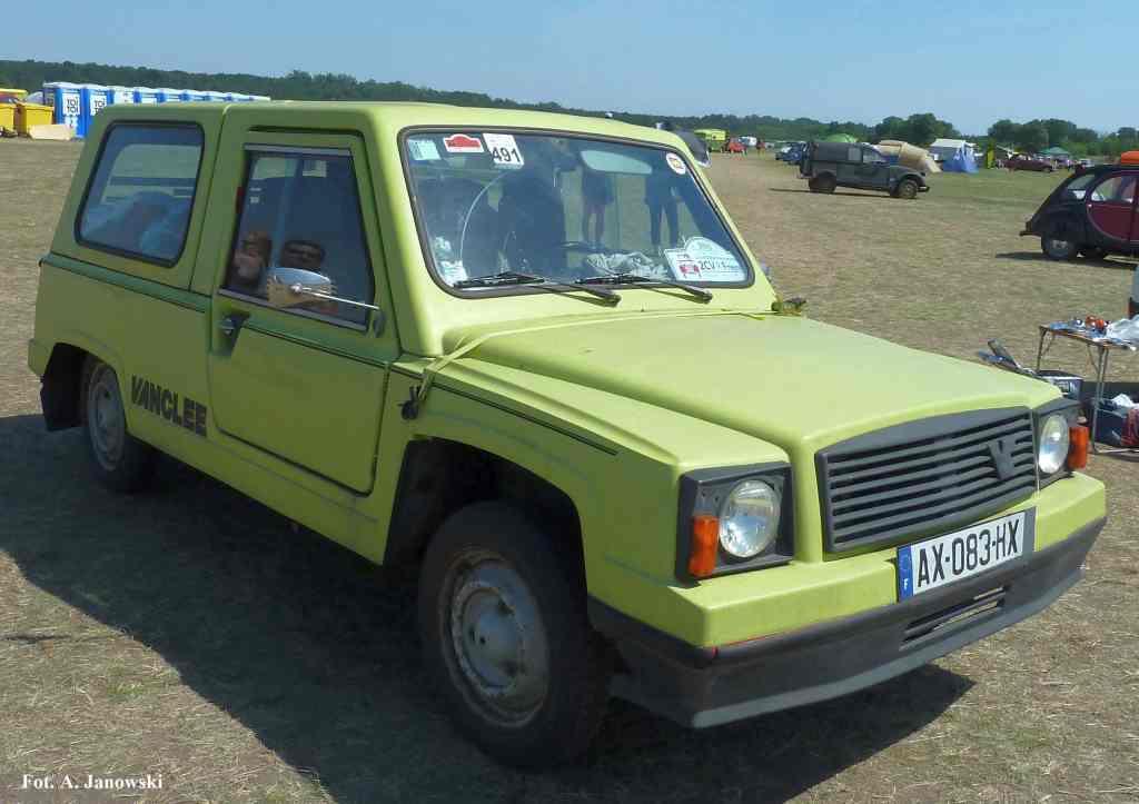 Citroen 40 Friends C2V Poland Vanclee Mungo Belgian Belge Belgique belgijski green pea Nasze Strony