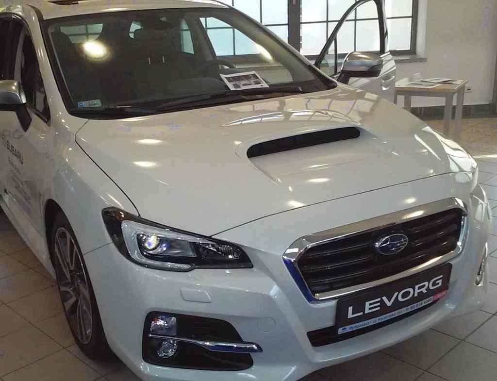 Targi Samochodowe Toruń 10.10.2015 Car Show Automobile Fairs Poland vehicle Subaru Levorg