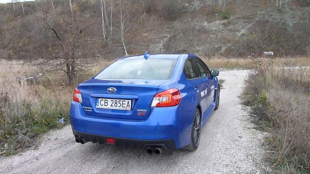 Subaru WRX STI Everything is possoble Wszystko jest możliwe najszybszy