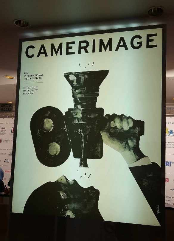 Camerimage film Bydgoszcz Poland banner poster hall action International Film Festival of the Art of Cinematography
