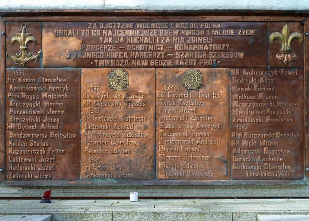 Harcerze II wojna światowa ziemiach wschodnich III Rzeszy r Gdynia Adolfa Hitlera okupanci port world war scout