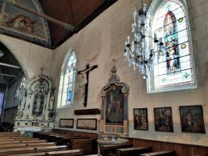 Ferte Bernard Rue de lÉglise Saint Germain de la Coudre France church catholic