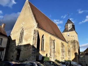 Ferte Bernard Rue de lÉglise Saint Germain de la Coudre France kościół