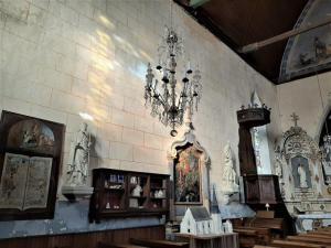 Ferte Bernard Rue de lÉglise Saint Germain de la Coudre France kościół Frankreich