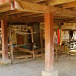 シェンクワーン 集落の織り手さん達2 ラオス01-08