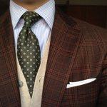 小紋ネクタイ|柄別に厳選した20種コーデ