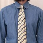 デニムシャツに合うネクタイ カジュアルな厳選8コーデ