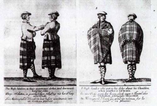 18世紀のタータンチェック
