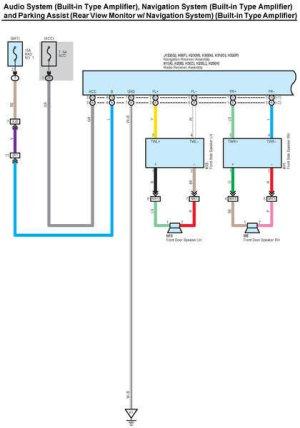 2013 Toyota Tundra Audio Wiring Diagram  Somurich