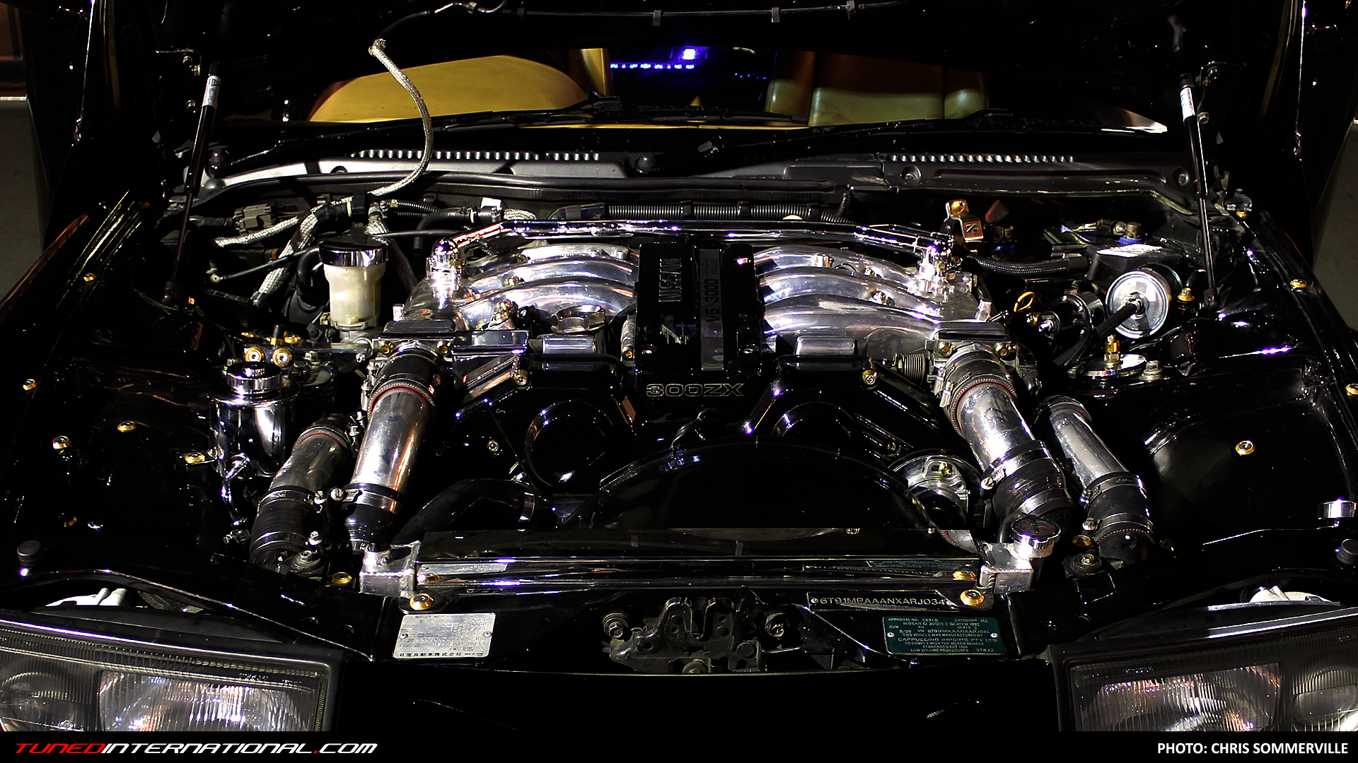 Once You Go Black: Andrew's 417KW 300ZX – Tuned  International