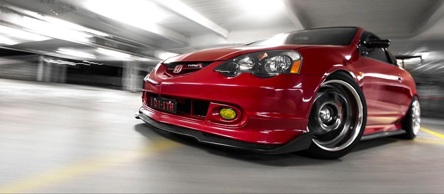 The Red Devil Paul S Honda Integra Dc5 Type R Tuned