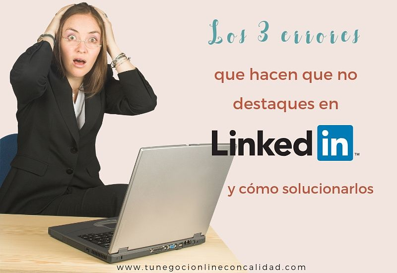Linkedin errores