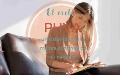 El ciclo PHVA: un sistema para organizarte con eficiencia en tu negocio