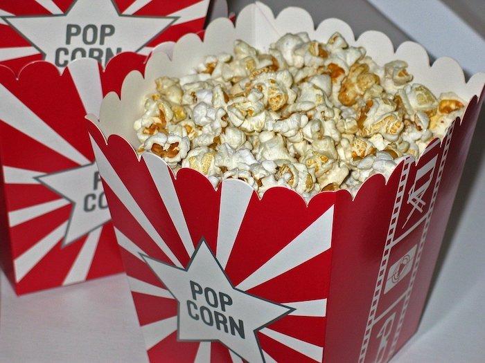 Popcorns at Downtown Cinema Valdosta, Georgia