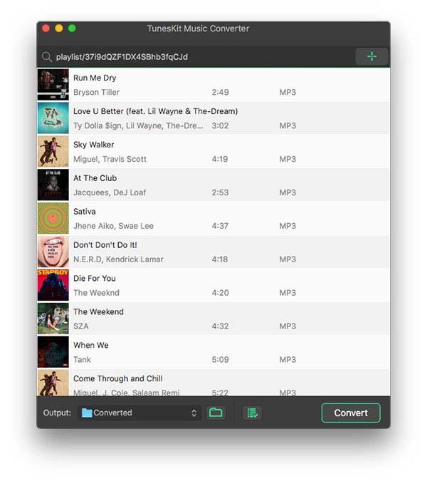 add spotify songs