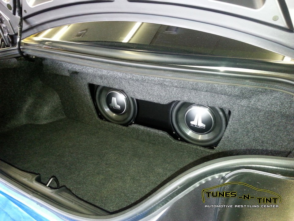 2008 Ford Mustang Custom Sub Enclosure Tunes N Tint