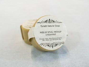 Unscented Shaving Soap