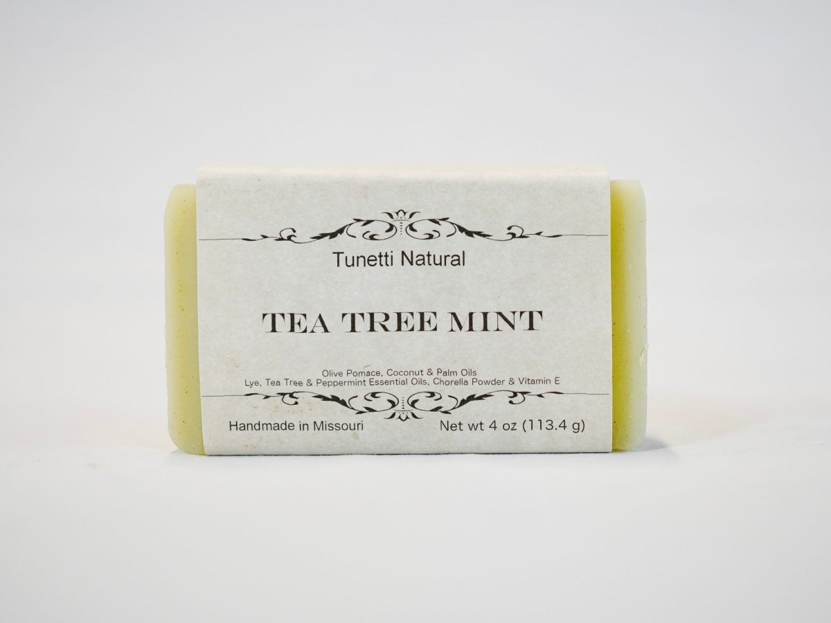 Tea Tree Mint Soap
