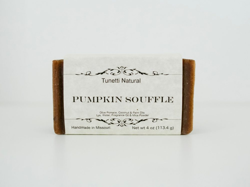 Pumpkin Souffle Soap