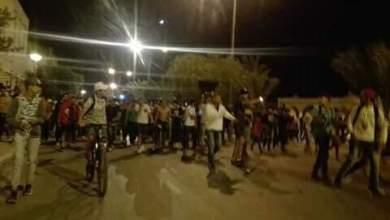Photo of احتجاج جماهير القوافل الرياضية بقفصة