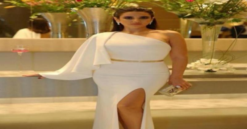 فستان درة زروق في حفل اختتام أيام قرطاج السينمائية يحدث ضجة