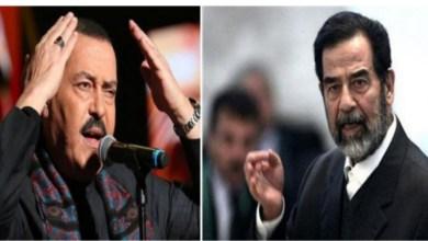 """Photo of """"معلقة القدس في كف بغداد"""": هذا ماجاء في القصيدة الكاملة التي أبكت صدام حسين حين أدّاها له لطفي بوشناق"""