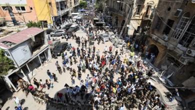 Photo of احتجاجات ساخنة في بيروت للمطالبة باستقالة الحكومة