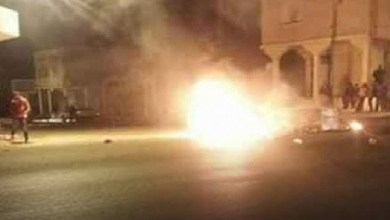 الأمن يستعمل الغاز المسيل للدموع لتفريق المحتجين في سيدي حسين – الحصاد