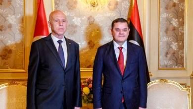 Photo of الدبيبة يزور تونس غدا الأربعاء للقاء سعيد ومحاولة إزالة برود العلاقات بين البلدين