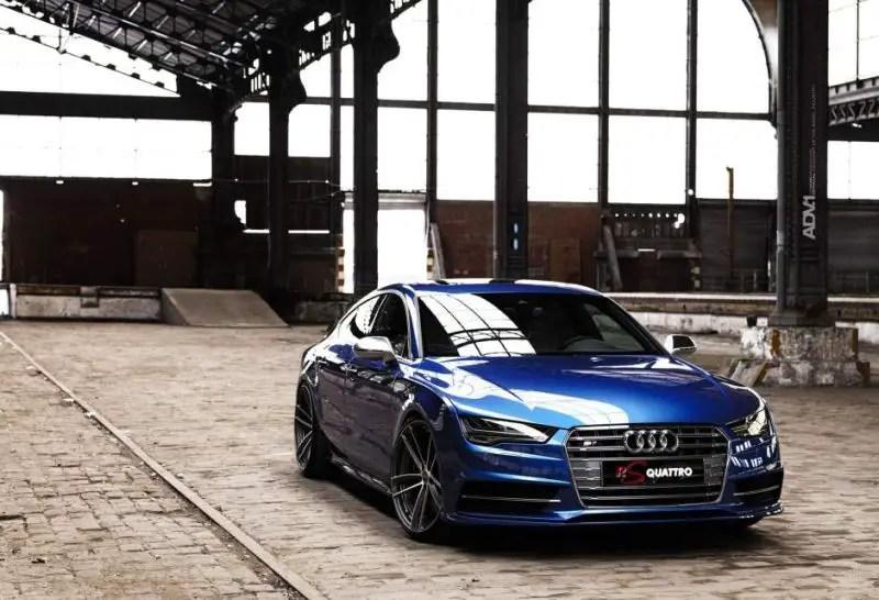 ADV1 Wheels Alufelgen RSQ2 Auf Dem Audi S7 Tuningblog