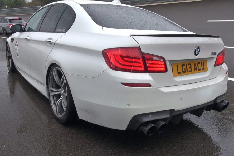 bmw m5 f10 with supersprint sports exhaust