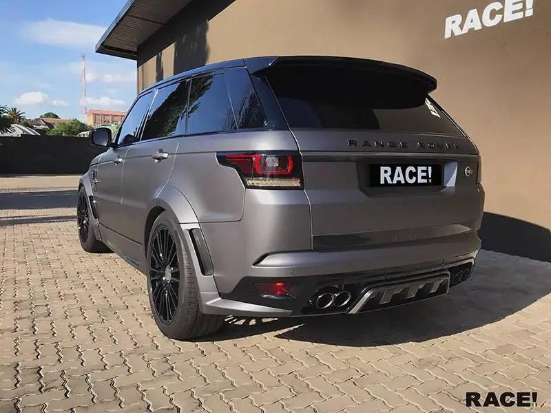 range rover sport svr with mansory bodykit