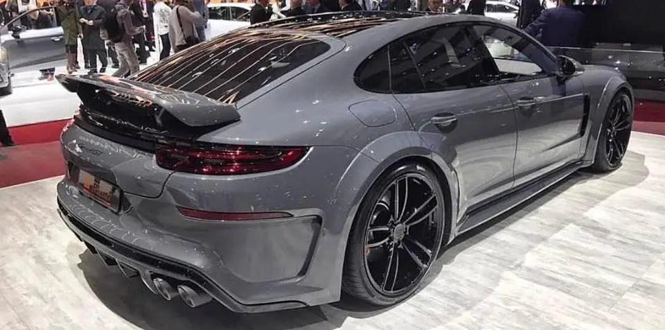 2017 TECHART GrandGT Porsche Panamera Turbo 1