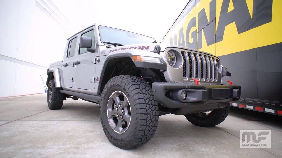 2020 jeep gladiator with magnaflow
