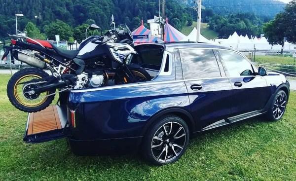 XXL pickup from Germany - BMW X7 (G07) pickup study
