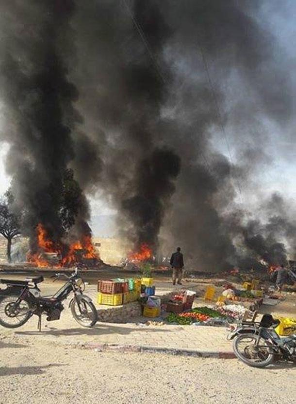 القصرين: صور حادث المرور الذي سقط فيه 65 شخص بين قتلى وجرحى