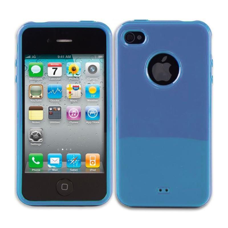 coque en silicone transparente pour iphone 4 4s