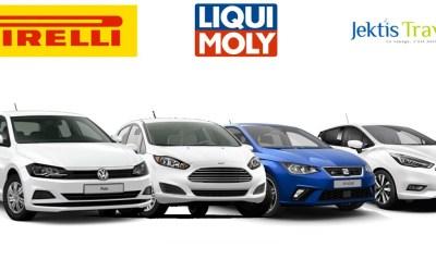 Sondage du meilleur nouveau modèle Segment B pour 2018 : participez et gagnez pleins de cadeaux Pirelli,Liqui Moly, Jektis Travel