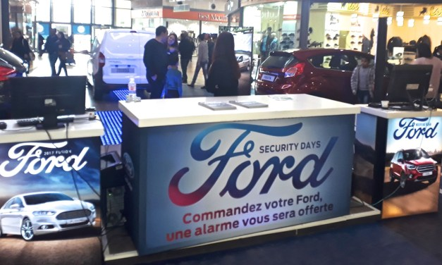 Ford Tunisie et sa promotion « Ford Security Days »
