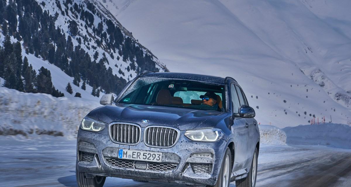 Le nouveau BMW X3 M40i testé en Allemagne et en Autriche