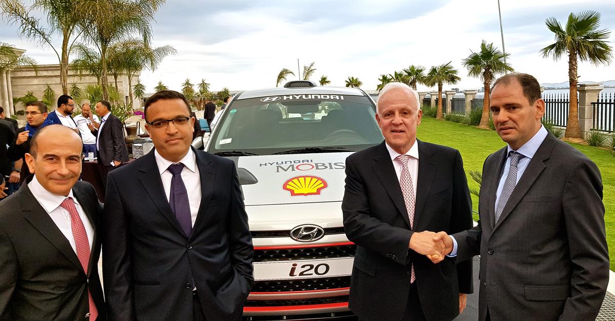 Contrat de 7 ans entre Alpha Hyundai Motor et Shell Vivo Energy