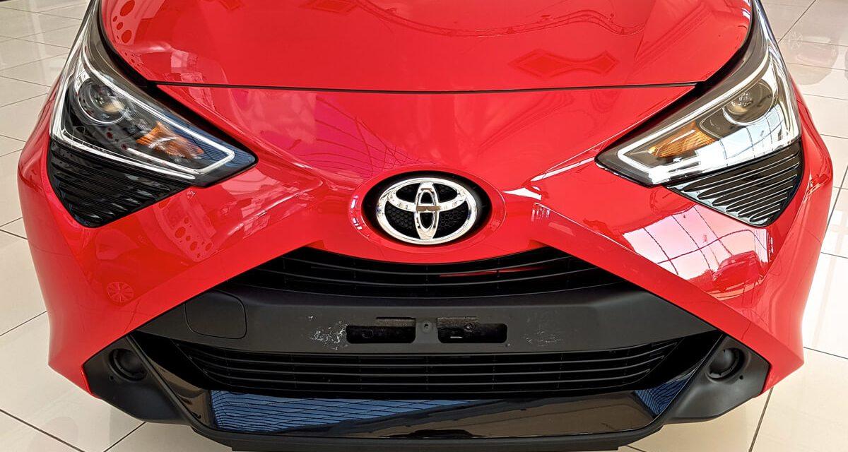 Nouveauté : Voiture populaire Toyota Aygo facelift disponible à BSB