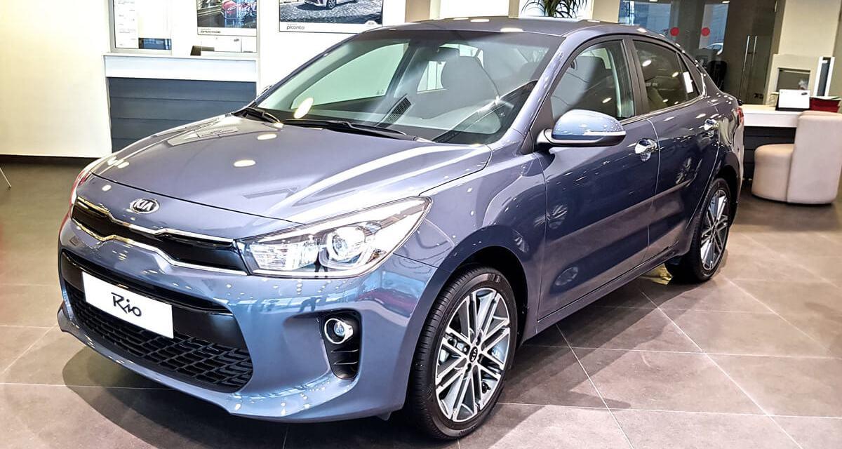 Nouvelle Kia Rio Sedan Disponible A Kia Motors Tunisie Tunisieauto